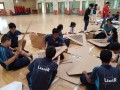 Largest Single Cardboard Structure@APSN Delta Senior Sch&BCA