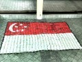 20170519 Flag made of plastic bottles@Hwa Chong Inst (10)