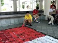 20170519 Flag made of plastic bottles@Hwa Chong Inst (2)