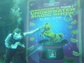First Underwater Magic Performance