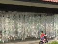 Largest Hanging Display Of Plastic Bottles