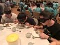 Largest Blindfolded Dining (8)