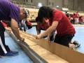 Largest Cardboard Race Track
