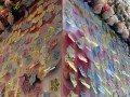 largest collage made of flower-shaped notes (11)