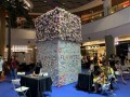 largest collage made of flower-shaped notes (16)
