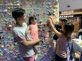 largest collage made of flower-shaped notes (19)