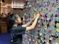 largest collage made of flower-shaped notes (4)