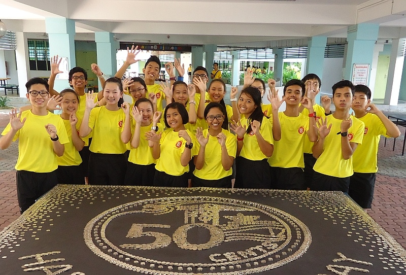 Largest Display of 50-Cent Coins | Singapore Book Of Records