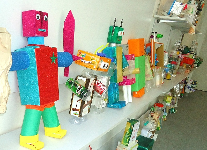 Largest Display Of Figurines Using Recycled Materials
