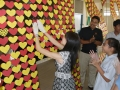 Largest Display Of Foam Hearts