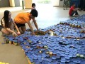 largest logo made of canned food (12)