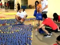 largest logo made of canned food (14)