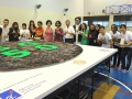 Largest Logo Made Of Jelly Worms