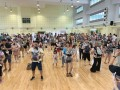 largest mass baby wearing dance (5)