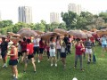 Largest Mass Walk With Umbrellas (7)