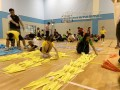 largest text formation made of paper airplanes (1)