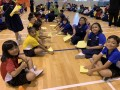 largest text formation made of paper airplanes (2)
