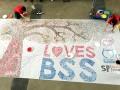 largest thumbprint art