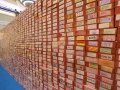 Largest Wall Made Of Paper Bricks