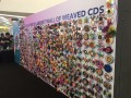 largest wall made of weaved cds (10)