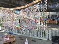 Largest Wind Chime Made Of Cultured Milk Bottles (3)