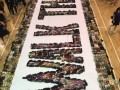 largest word formation made of shoes@fajar sec (2)