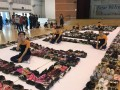 largest word formation made of shoes@fajar sec (6)
