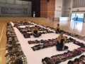 largest word formation made of shoes@fajar sec (7)