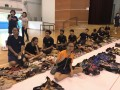 largest word formation made of shoes@fajar sec (8)