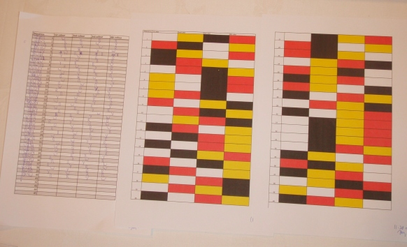 World's Longest Colour Sequence Memorised
