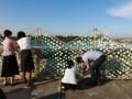 longest sculpture made of plastic bottles (8)
