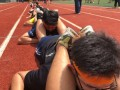 most people in a push-up chain@yuan ching sec