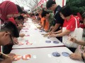 Most Number Of People Painting CDs Together (13)