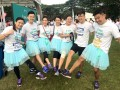 Most Number Of People Running WIth Purple Shoe Laces (1)