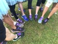 Most Number Of People Running WIth Purple Shoe Laces (3)