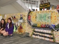 Longest Mural Made From Recycled Packaging Materials