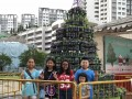 Tallest Christmas Tree Made Of Bottled Plants (1)