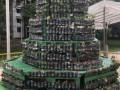 Tallest Christmas Tree Made Of Bottled Plants (14)