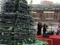 Tallest Christmas Tree Made Of Bottled Plants (6)