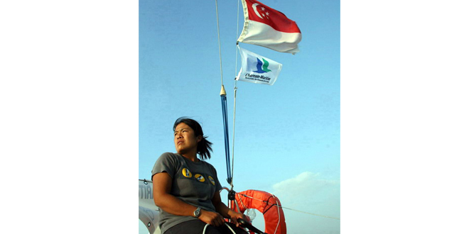 First Asian Woman To Cross The Atlantic Solo