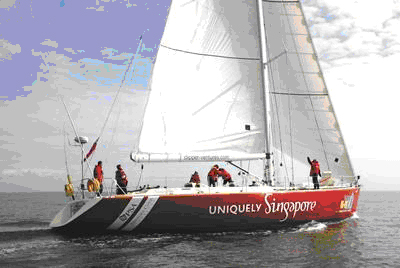 First Round-The-World Clipper Race