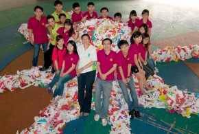 World's Largest Plastic Bag Sculpture