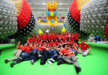 Largest Single Sculpture Made Of Balloons