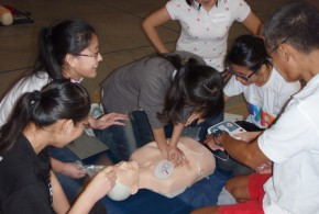 World's Largest AED Training Session