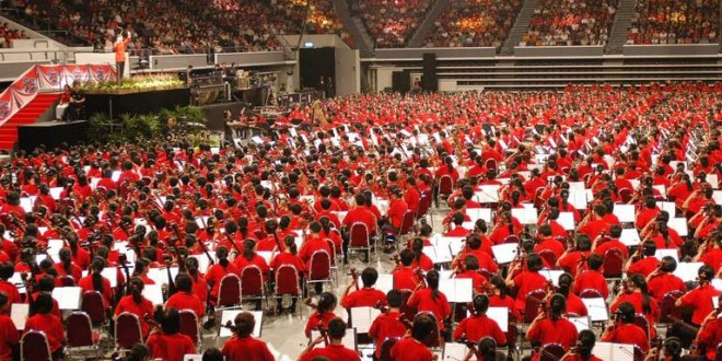 World's Largest Orchestra Performance