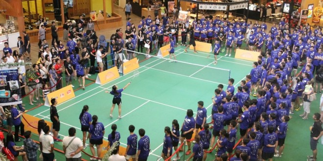 Most Participants In A Badminton Rally