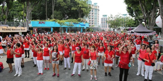 Longest Duration Mass Line Dance