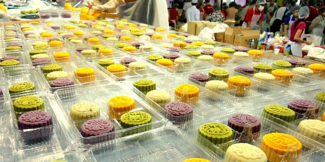 Most Number Of Mooncakes Made At One Location