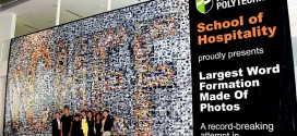 Largest Word Formation Made Of Photos