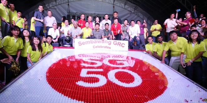 Largest Logo Made Of Ping Pong Balls